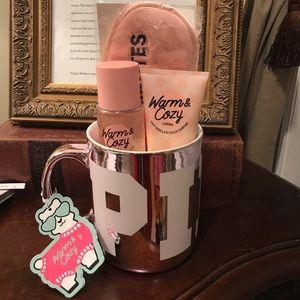 💗PINK Large Coffee Mug with Goodies